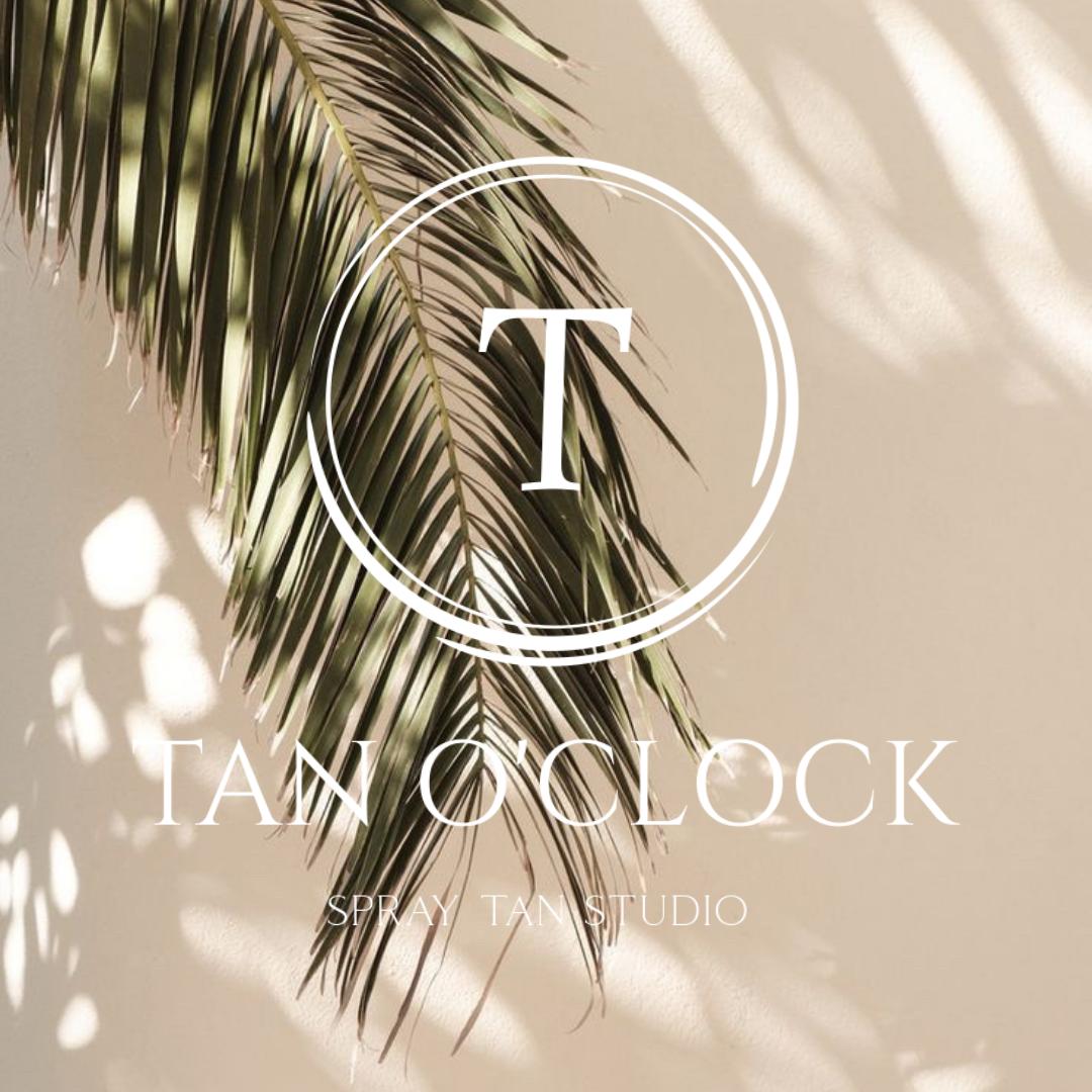 spraytan breda Tan O'clock spraytanstudio tanoclock logo